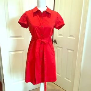 Red kate spade dress size 4